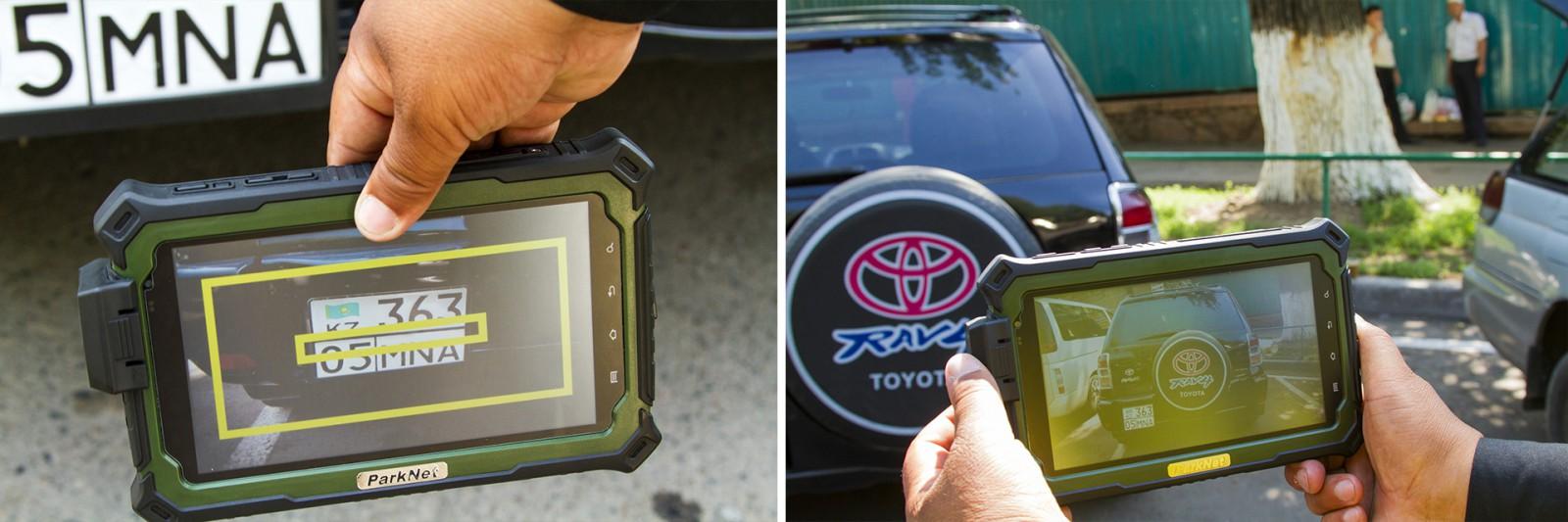 В Перми за паркующимися на газонах будут следить с помощью портативного фотофиксатора